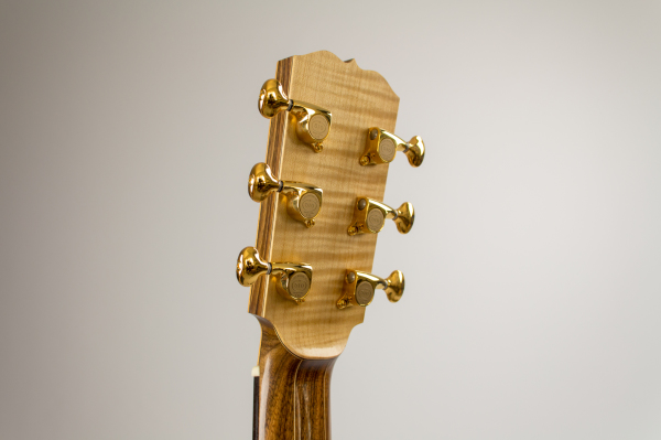 English Sycamore headstock veneer